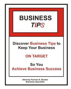 Business Tips Cover